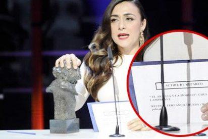 Premios Goya: ¿Por qué ganó Candela Peña si en la tarjeta aparecía Chus Lampreave?