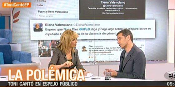 """Susanna Griso pone contra las cuerdas a Toni Cantó en Antena 3: """"Te has dejado intoxicar y haces daño"""""""