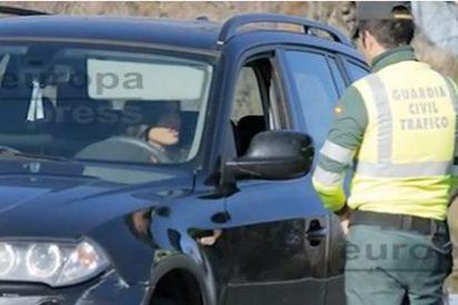 Sara Carbonero pisa el acelerador más de la cuenta y la Guardia Civil la acaba multando