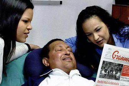Las primeras fotos de Hugo Chávez tras su operación el 11 de diciembre