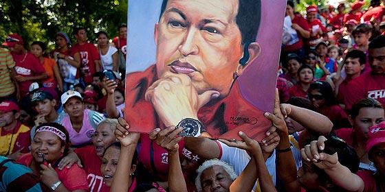 """Los chavistas: """"Hugo Chávez jurará como presidente cuando esté bueno y sano"""""""