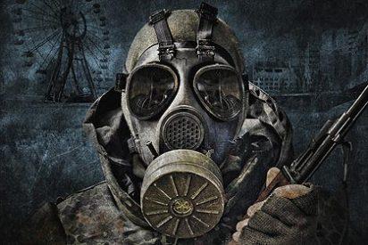 Se derrumba el techo junto al 'sarcófago' del reactor nuclear de Chernóbil