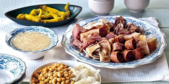Receta de cocina: Cocido maragato
