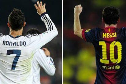 Cristiano asusta a los culés y al Barça de Messi le entra el 'cagazo' arbitral