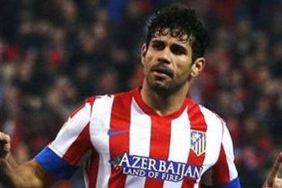 Diego Costa da ventaja al Atlético ante el Sevilla desde el punto de penalti (2-1)