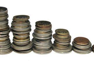 Un ciudadano cabreado salda su deuda con Hacienda con 80 kilos en monedas