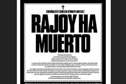 """La Moncloa envía una nota por error: """"Pésame Rajoy por fallecimiento Rajoy"""""""