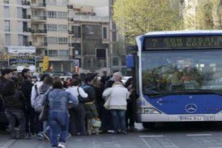 La subida del billete del bus provoca en Palma la bajada de 5 millones de pasajeros