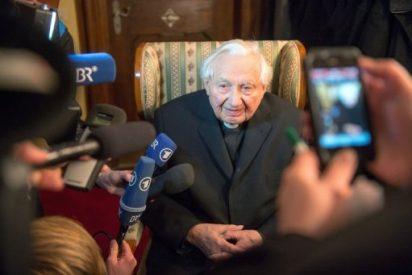 """Geor Ratzinger: """"Ya no tiene fuerzas"""""""