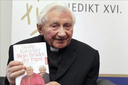 El hermano de Benedicto XVI reconoce que el motivo de la renuncia son los problemas de salud