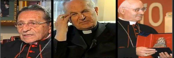 El Papa recibe a los tres cardenales que investigaron el Vatileaks