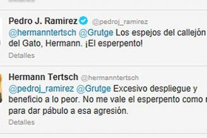 Hermann Tertsch y Pedrojota Ramírez se tiran de los pelos en Twitter
