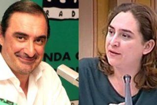 """Carlos Herrera: """"Esta tal Ada Colau, que llamó criminal a la banca, está a un minuto de ser la versión femenina de Willy Toledo"""""""