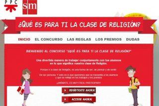 SM y PPC ponen en marcha el concurso '¿Qué es para ti la clase de Religión'?
