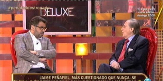 "Jorge Javier, sin frenos contra Jaime Peñafiel: ""¡Me tocas las pelotas! ¡No te gusta este programa! ¡No vengas!"""