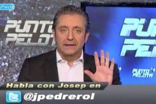 "Pedrerol a Del Bosque tras criticar a 'Punto Pelota': ""Aún sigues sin ser presidente de Intereconomía"""