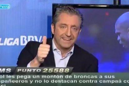 """Alfredo Duro se presenta en 'Punto Pelota' creyéndose poseedor de la verdad absoluta y se lleva un cachete de Josep Pedrerol: """"Parece que estás por encima de los demás"""""""