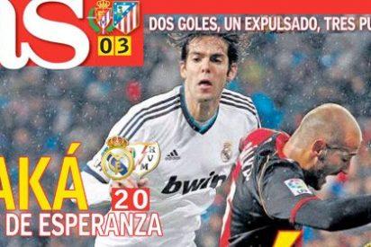 """El diario As moviliza su maquinaria para resucitar a Kaká y titula en portada: """"Un rayo de esperanza"""""""
