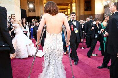 """Anécdotas Oscar 2013: del vídeo """"os hemos visto las tetas"""" a las muletas"""