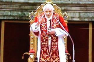 """""""Garantizo mi obediencia al futuro Papa. Está entre ustedes"""""""