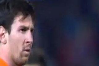 Tremenda bronca de Leo Messi a Tello por no pasarle el balón ante el Granada