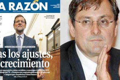 """Marhuenda agota todos los elogios con Rajoy: """"El presidente desarma al líder del PSOE"""""""