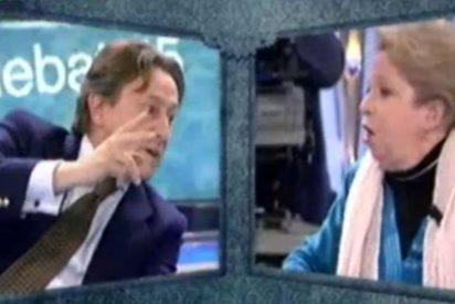"""María Antonia Iglesias a Hermann Tertsch en 'El Gran Debate': """"Tú sí que eres un terrorista"""""""