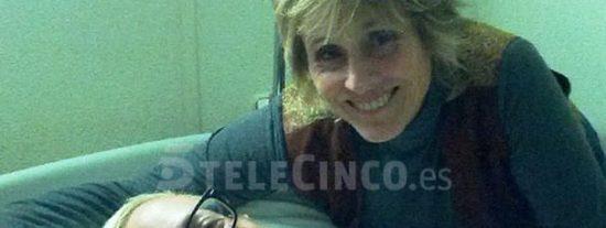 Momento surrealista de Mercedes Milá visitando en el hospital a Álvaro, el concursante que se dio la 'leche' en 'GH14', ¿debería volver a entrar?