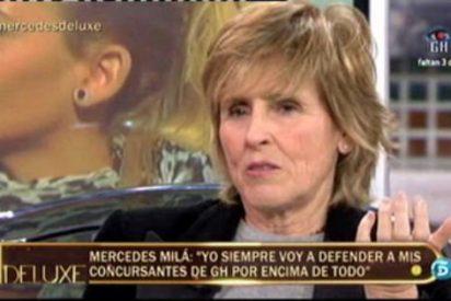 """Mercedes Milá utiliza el 'Deluxe' para dar un mitin contra el PP: """"Esperanza Aguirre es una caradura y una demagoga que quiere el puesto de Rajoy"""""""