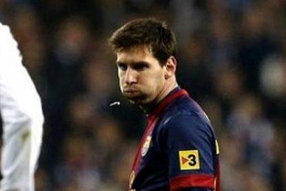 La prueba del escupitajo de Leo Messi hacia el banquillo del Real Madrid