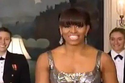 La aparición estelar en los Oscar de una dama llamada Michelle Obama