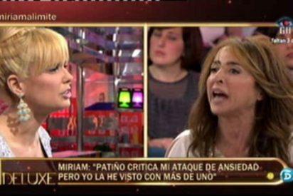 El adiós a la dignidad de Miriam Sánchez en el 'Deluxe': sin trabajo, sin salud y machacada por todos los colaboradores