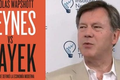 Nicholas Wapshott 'recupera' a Keynes y a Hayek para debatir sobre la crisis económica actual