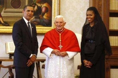 Obama muestra su afecto al Papa