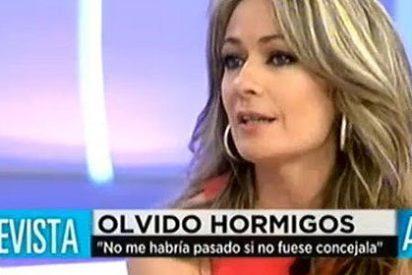 """Olvido Hormigos, la concejal socialista del vídeo erótico: """"Fui obligada a dimitir"""""""