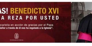 Osoro agradece el pontificado de Benedicto XVI