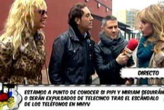 """Tensísimo reencuentro entre Pipi Estrada, Miriam Sánchez y Emma García en los pasillos de T5: """"Estoy cansada de este infierno"""""""