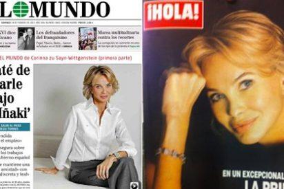 """Jaime Peñafiel a PD: """"Corinna se veía declarando ante la Justicia y se ha anticipado con un lavado de imagen"""""""