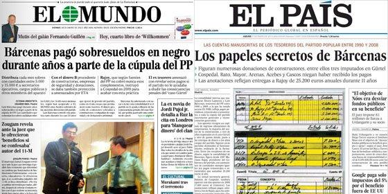 ¿Se pretende dar una vuelta al 'caso Barcenas' y presentarlo como un montaje de la prensa?