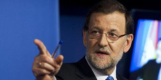 Mariano Rajoy ganó 49.893,44 € netos por su trabajo en 2012