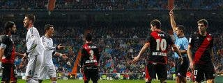 El Rayo Vallecano da la cara y el Real Madrid se la rompe en el Bernabéu