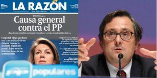 """Marhuenda, al auxilio del PP: """"Rajoy es incapaz de aceptar pagos ilegales"""""""