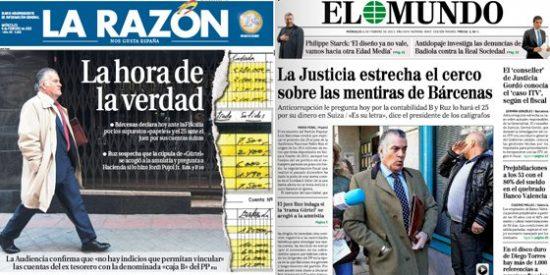 """La 'brigada del aplauso' se queda sola: """"La Justicia estrecha el cerco sobre las mentiras de Bárcenas"""""""