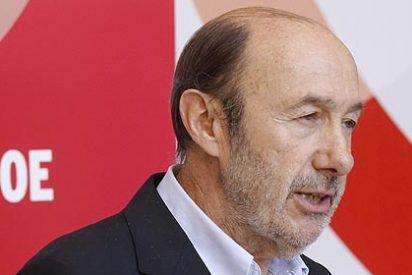 """Rubalcaba: """"Pedimos a Rajoy que abandone la presidencia del Gobierno"""""""