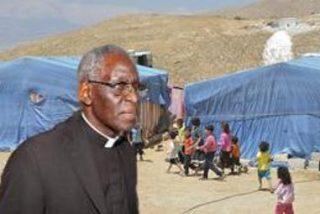 El cardenal Sarah visitará a los refugiados sirios en Jordania