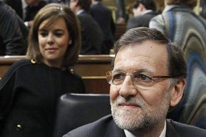 El jefe se fue a comer y Soraya Sáenz de Santamaría se quedó guardando el fuerte