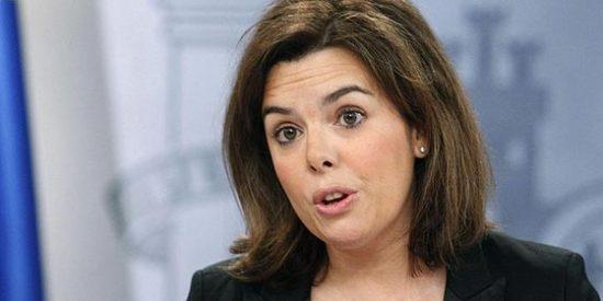 """Soraya Sáenz de Santamaría a PD: """"No habrá reforma de la Constitución, no podemos levantar la tapa de la alcantarilla sin saber dónde va"""""""