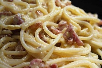 Receta de cocina: Espaguetis a la carbonara