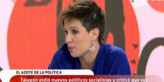 Beatriz Talegón Suaviza Su Discurso Las Críticas Son Buenas Y