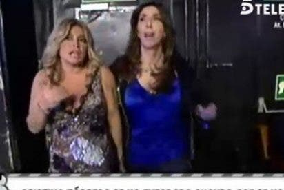 """Continúa el extraño y descarado mal rollo entre Paz Padilla y Cristina Tárrega en 'Sálvame': """"¡Desgraciada!"""""""